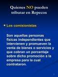 Quienes NO pueden tributar en Repecos - FEyRI - Page 7