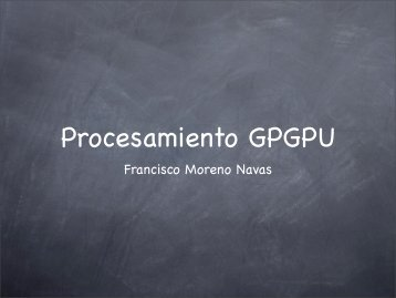 Procesamiento GPGPU