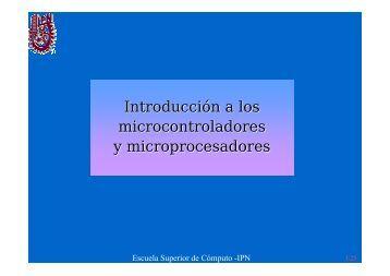Introducción a los microcontroladores y microprocesadores - DSID