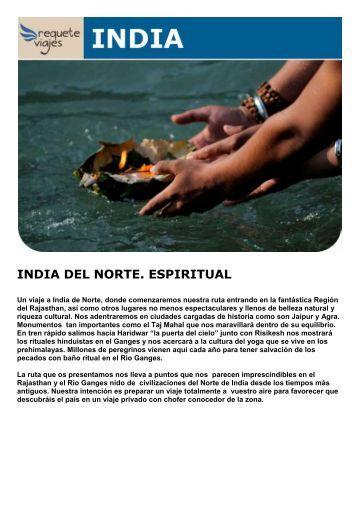 INDIA DEL NORTE. ESPIRITUAL - Viajes Tarannà