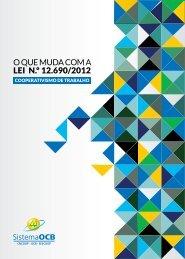 O QUE MUDA COM A LEI N.º 12.690/2012