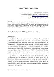 A TRIBUTAÇÃO DAS COOPERATIVAS FÁBIO ... - home cpgls