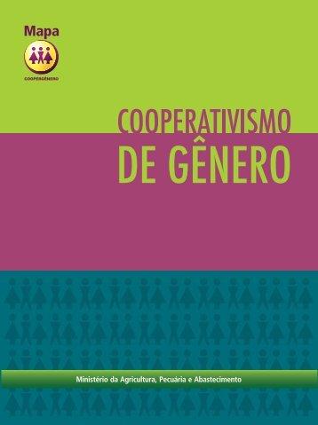 cooperativismo de gênero - Ministério da Agricultura, Pecuária e ...