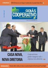 CASA NOVA, NOVA DIRETORIA - OCB-GO e SESCOOP/GO