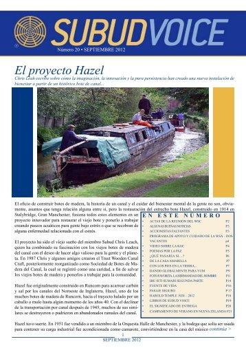 El proyecto Hazel - Subud Voice