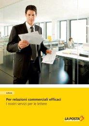Per relazioni commerciali efficaci I nostri servizi per le lettere