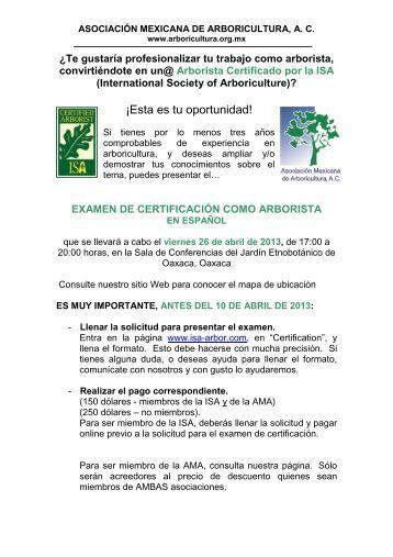 Leer Más - Asociación Mexicana de Arboricultura
