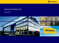 Comments - Postbank