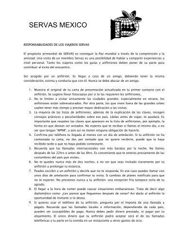 Descarga Archivo - Bienvenidos a Servas México - Servas