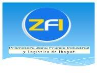 Promotora zona franca industrial y logística de Ibagué (septiembre ...