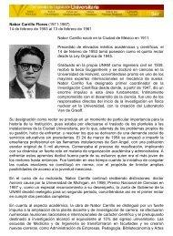 Nabor Carrillo Flores - Universidad Nacional Autónoma de México