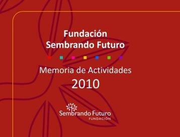 Tripa Memoria Actividades-201... - Fundación Sembrando Futuro