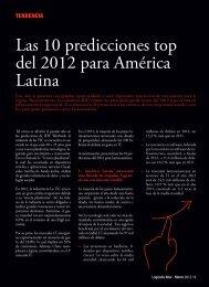 Las 10 predicciones top del 2012 para América Latina - Logicalis