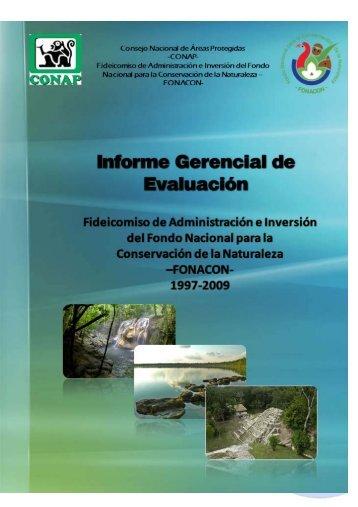 Información sobre el presupuesto - Consejo Nacional de Áreas ...