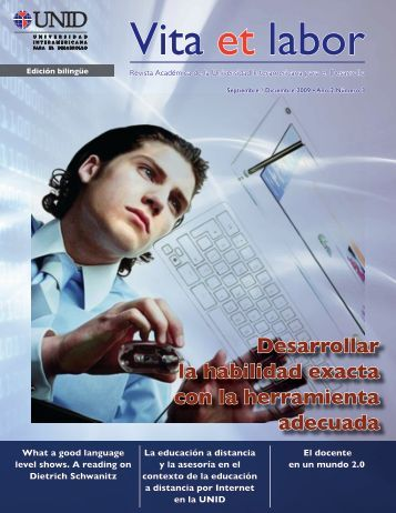 Revista Vita et labor número 7 - Get a Free Blog