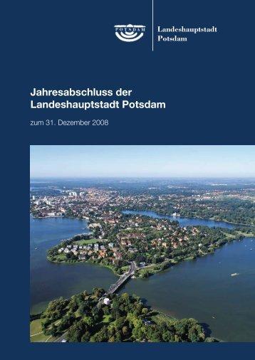 Jahresabschluss 2008 - Potsdam