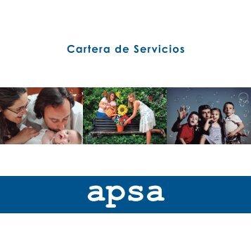 Cartera de Servicios - APSA
