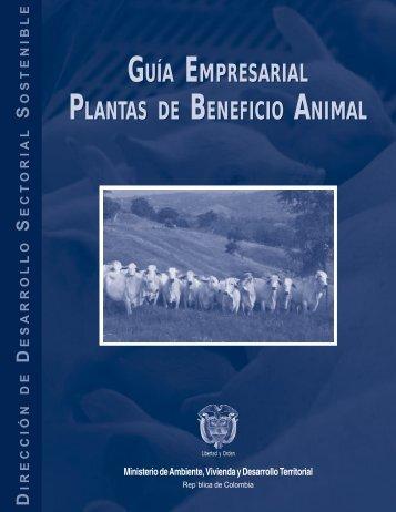 Guía empresarial plantas de beneficio animal - decoraciondetortas
