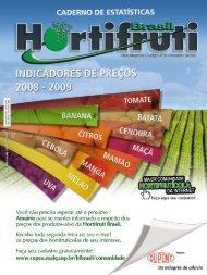 Caderno de Estatísticas - HORTIFRUTI BRASIL