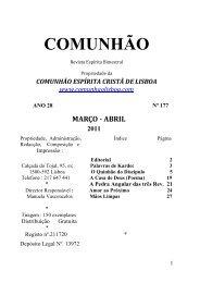 revista 177 - Comunhão Lisboa