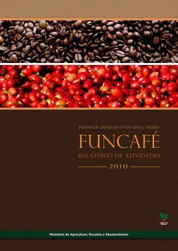 FUNCAFÉ - Ministério da Agricultura, Pecuária e Abastecimento