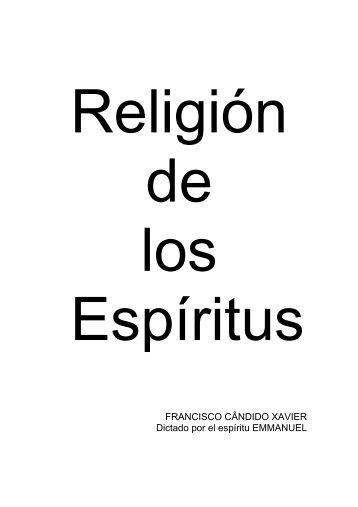 RELIGION DE LOS ESPIRITUS - Federación Espírita Española