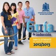 GUIA INDUCCION 2012-2013.pdf - Facultad de Ingeniería ...