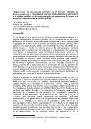 """""""Experiencias de intervención territorial en el cinturón hortícola de ..."""