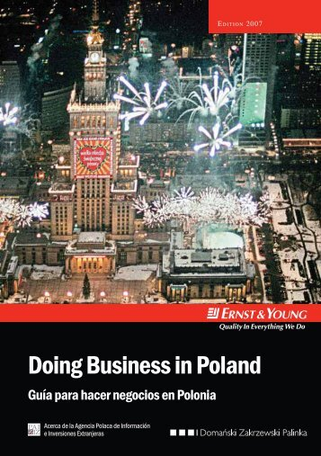 Doing Business in Poland - Ernst & Young