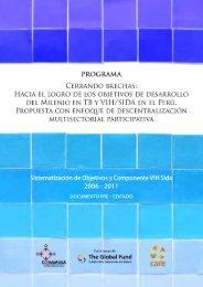 Sistematización VIH V Ronda - CARE Perú