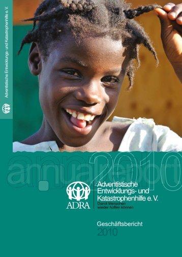 Geschäftsbericht 2010 - Adra