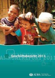 Geschäftsbericht 2011 - Adra