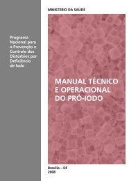 Manual técnico e operacional do Pró-Iodo: Programa Nacional para ...