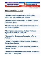 12 de agosto de 2010 - Portal Embras.NET