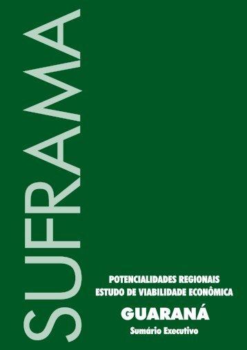 Guaraná - Suframa