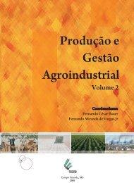 Produção e Gestão Agroindustrial - centro acadêmico de tecnologia ...