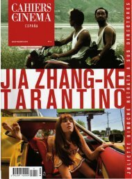 Cahiers du cinema Espana nº 03 julio agosto 2007 - Get a Free Blog