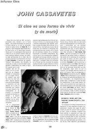 17. John Cassavetes. El cine es una forma - Dena Flows