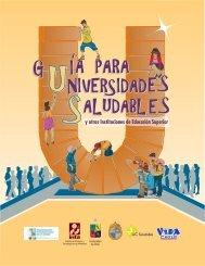 Guía para Universidades Promotoras de la Salud - Elige Vivir Sano