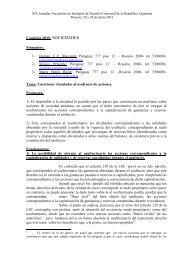 36) Racciatti – Cuestiones vinculadas al usufructo de acciones