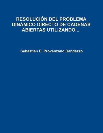 Resolución del problema dinámico directo de cadenas abiertas ...