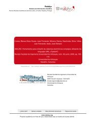 Redalyc.UML2SC: Herramienta para el diseño de sistemas ...
