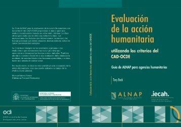 Guía ALNAP en pdf - Saber Donar