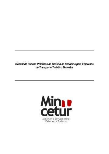Manual de Buenas Prácticas de Gestión de Servicios para ...