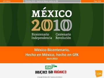 Hecho en México, hecho en GfK - AMAI