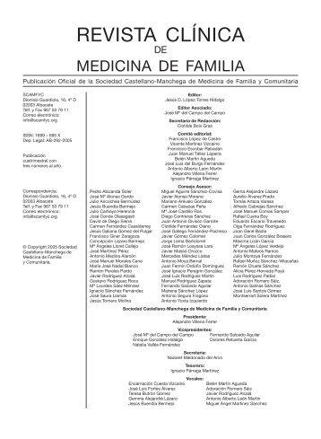 REVISTA Vol. 2 - Nº 5.indd - sociedad castellano-manchega de ...