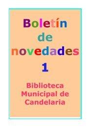 Boletín de Novedades - Candelaria