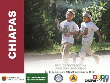 Plan Guadalupe-Reyes 2012 - Protección Civil