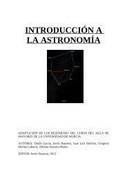 Introducción a la Astronomía UMU - Proyecto Webs - Universidad de ...