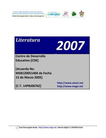 Literatura - Mxgo.net
